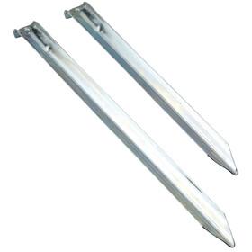 Nordisk V-Peg - Accesorios para tienda de campaña - Steel, 6 Stück gris